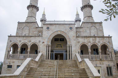 Мечеть, построенная в честь первого президента Чечни А.Кадырова
