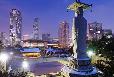 Древнейший буддийский храм Кореи Понынса