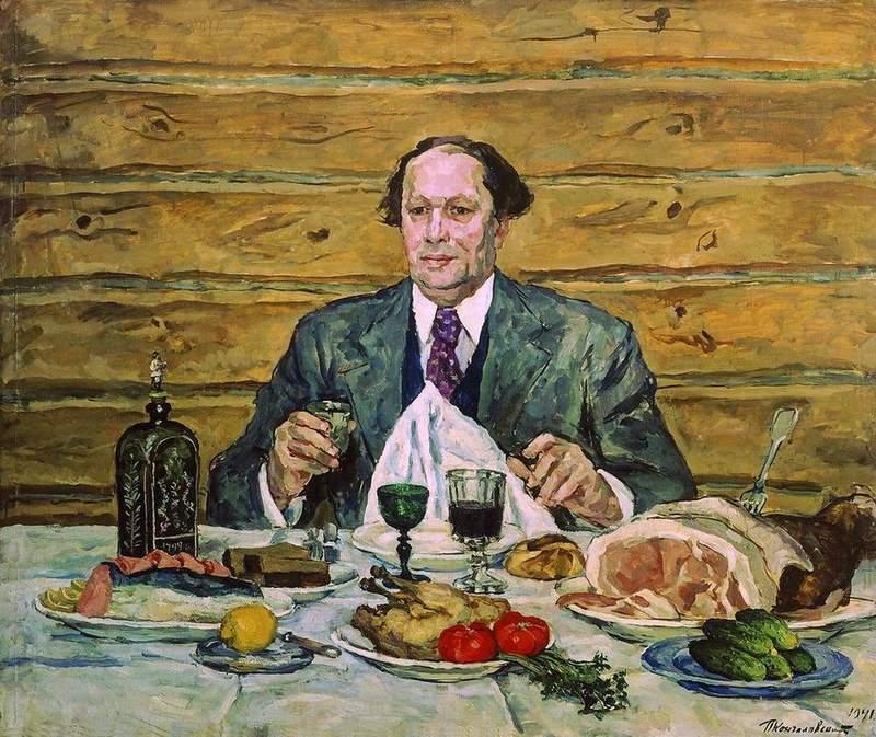 портрет Алексея Толстого