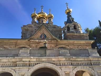 русский монастырь Марии Магдалины на Масличной горе