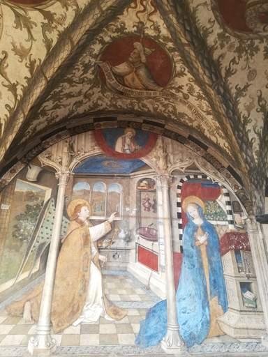 Фреска в церкви Санта-Мария ди Кастелло.