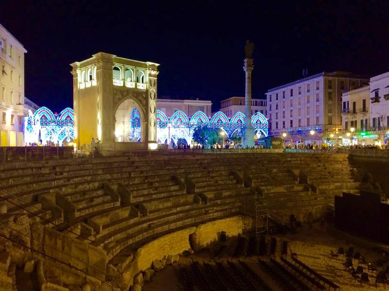 Лечче — город памятник в стиле барокко