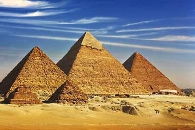 Великие Пирамиды долины Гизы