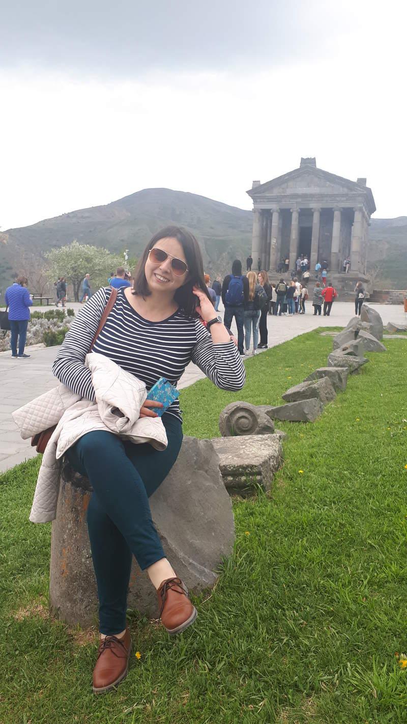 Я в Гарнийском храме