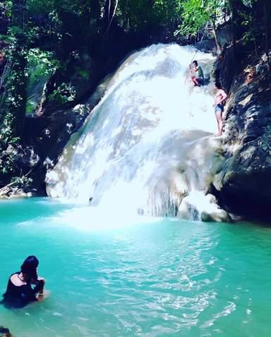 водопад на Боракае