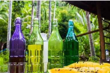 Дегустация филиппинской водки и вина