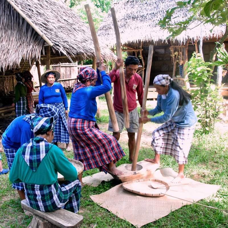 Традиционная филиппинская деревня