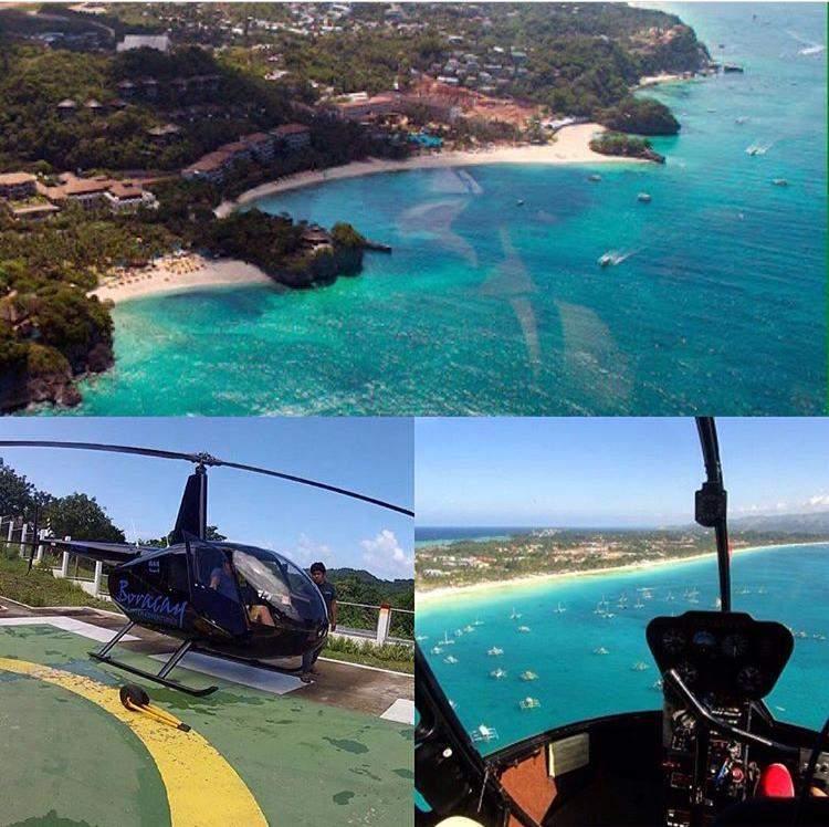 Экскурсия на вертолете над о.Боракай