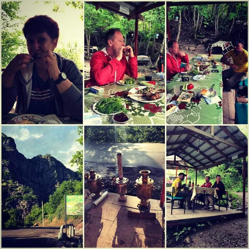 Обед в горах )