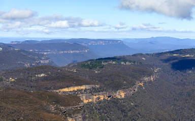 панорама Голубых гор