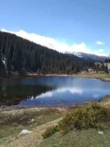 Верхнее озеро, Григорьевское ушелье