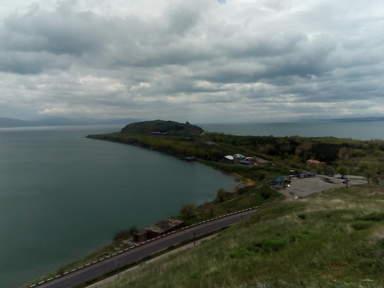 озеро Севан, полуосров Севан и монастырь Севанаванк
