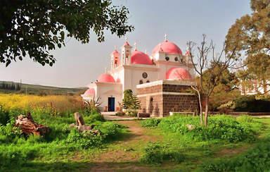 Церковь 12 Апостолов в Капернауме - городе Иисуса