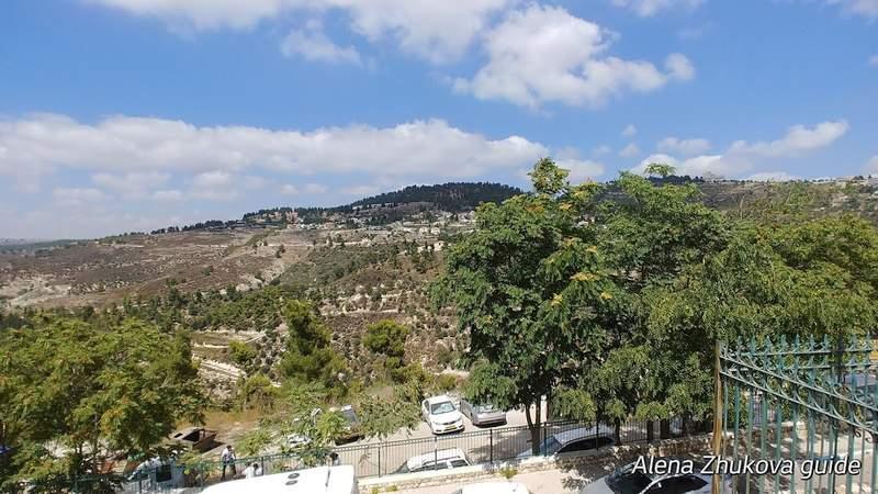 панорама Ханаанской горы