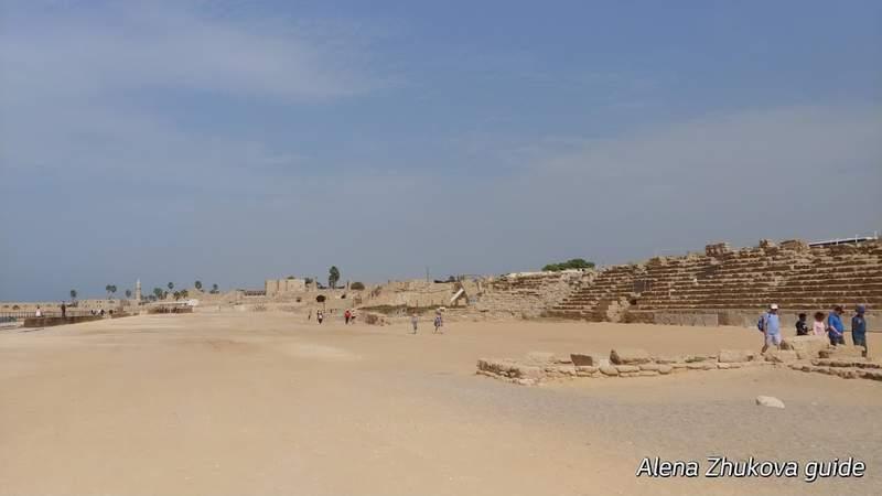 Раскопки ипподрома 1 века до нашей эры