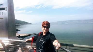 озеро Кинерет и я Ваш гид