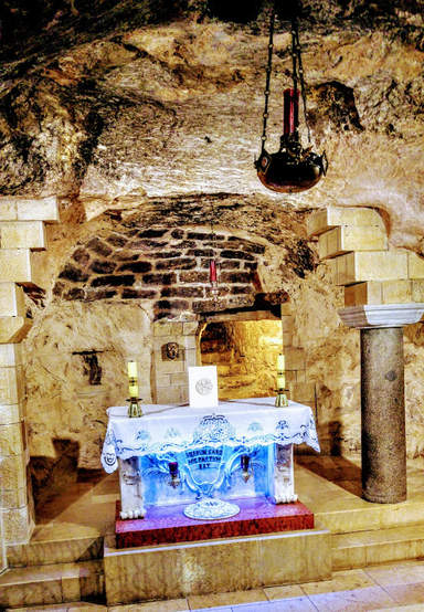 дом святого семейства в Назарете