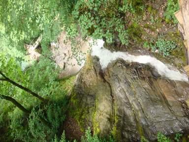 Вид с водопада 7 красавиц