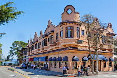 Саусалито- живописный приморский город