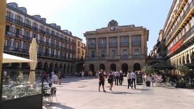 Сан-Себастьян. Главная городская площадь.