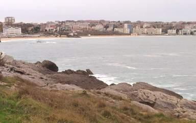 Сантандер. Вид на город и океан.