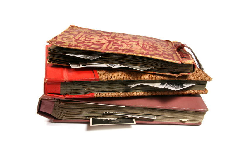 Книги и фотографии