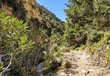 дорога к ущелью Авакас