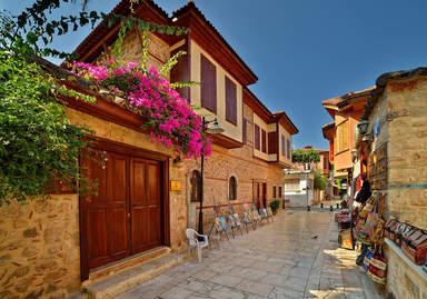 Современный стиль старого города