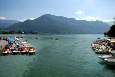 Вид на озеро Анси