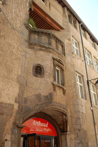 Фасад особняка Рабо