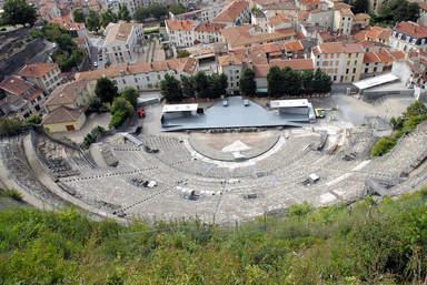 Римский театр середины I века н.э.