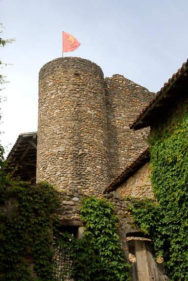 Башня особняка принцев Савойских