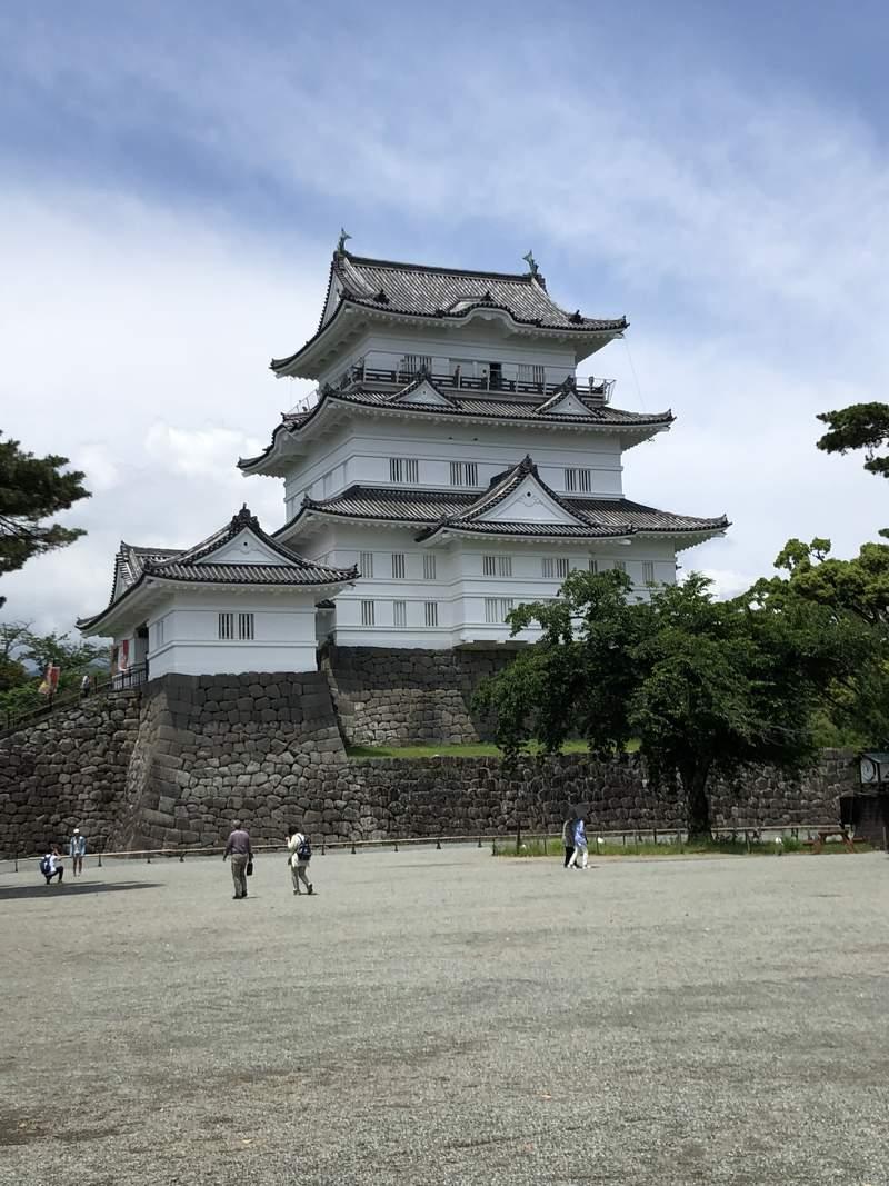 Замок в городе Одавара близ Хаконе