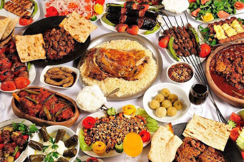 турецкое застолье