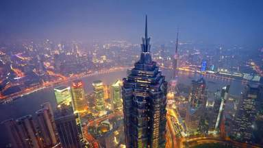Shanghai Jinmao Tower - 88 этажей