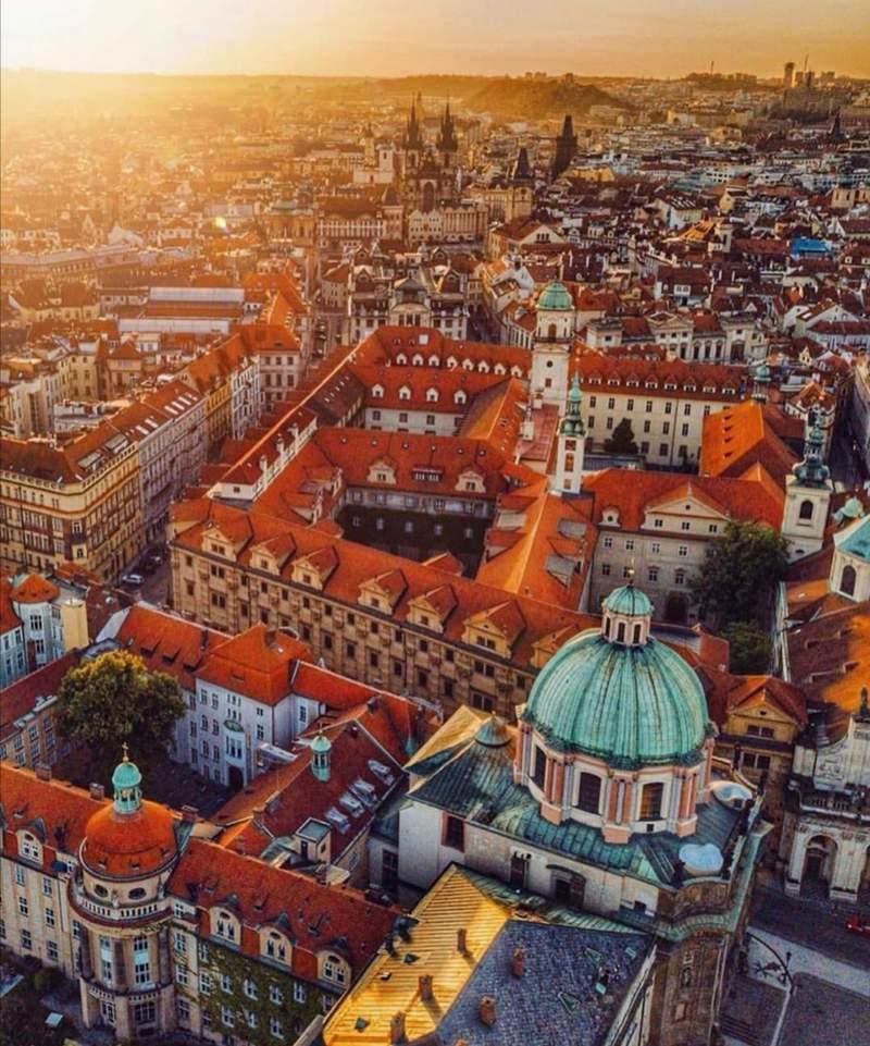 Прага. Виктор Чех