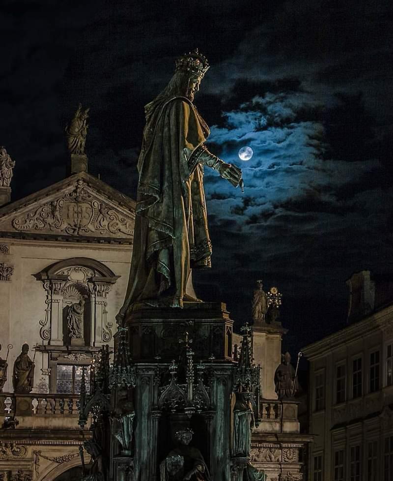 Прага- Карл IV