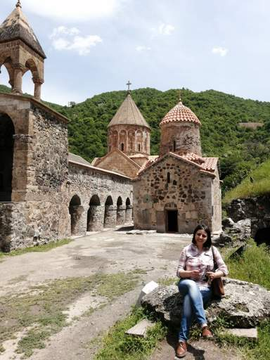 Монастырский комплекс Дадиванк