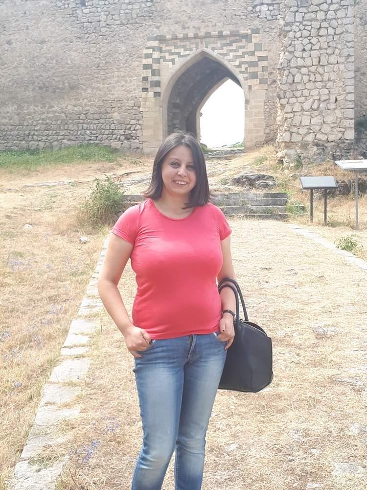 Крепостные стени Шуши