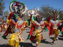 Танцы карнавал