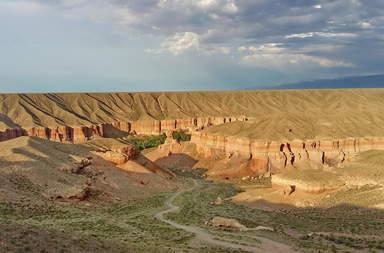 Чарынский парк, каньон Темирлик.