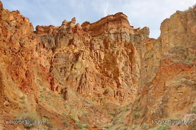 Чарынский парк, каньон - сапог.