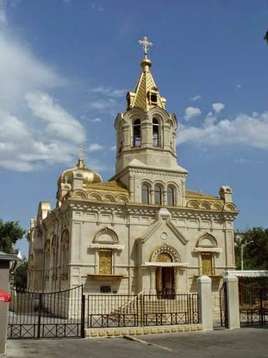 Церковь в Баку 2