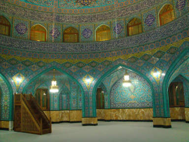 Мечеть при мавзолее Мовсум- Ага