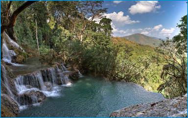 Водопады Куанг Си