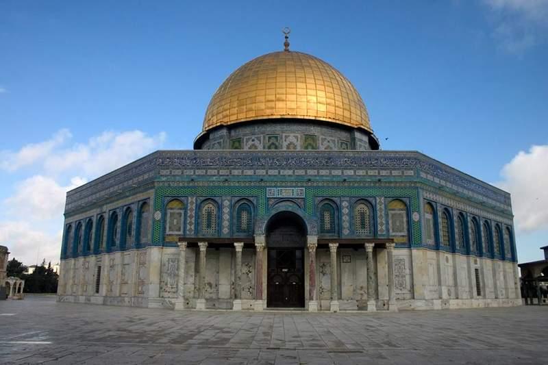 Купол скалы на храмовой горе в Иерусалиме