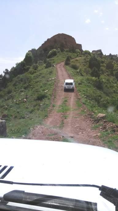 Дорога в Смбатаберд