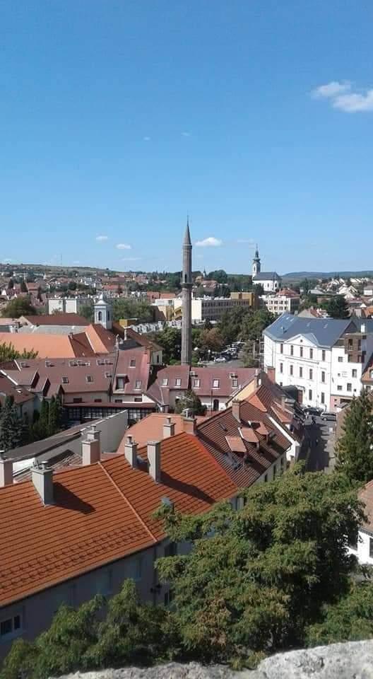 Взгляд на город из крепости