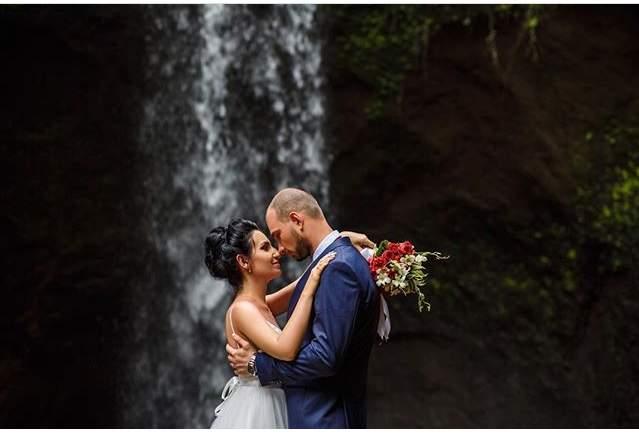 фотосессия на водопаде