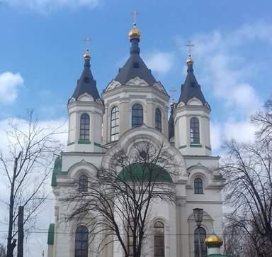 Свято-Покровский собор - главный православный храм Запорожья